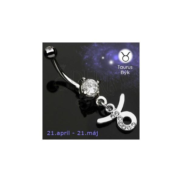 Bauchnabelpiercing  Sternzeichen - Stier