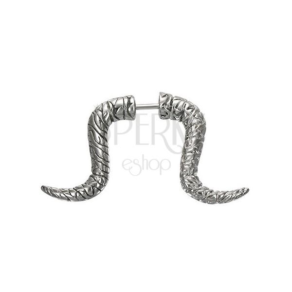 Fake Expander - gebogenes Horn mit Rillen
