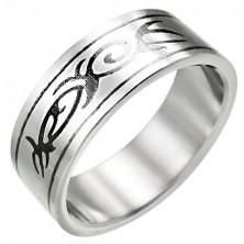 TRIBAL Ring aus Chirurgenstahl