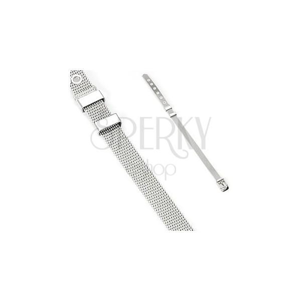 Stahl Armband in Gürteloptik