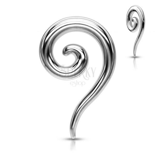 Ohrpiercing - spiralenförmiger Expander