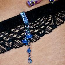 Bademodeschmuck - hängende Zirkone